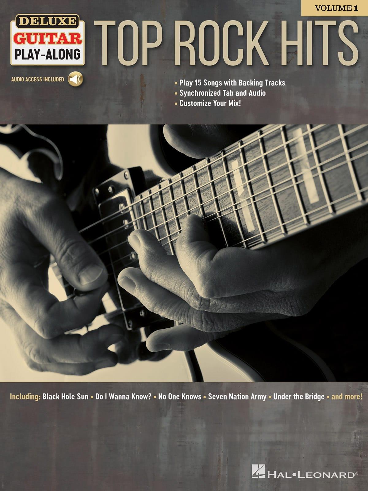 Deluxe Guitar Play-Along Volume 1 - Top Rock Hits - laflutedepan.com