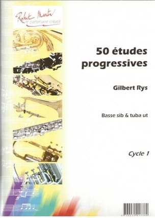 50 Etudes Progressives Gilbert Rys Partition Tuba - laflutedepan