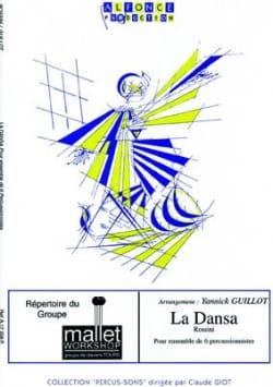 La Dansa ROSSINI Partition Ensemble de percussions - laflutedepan