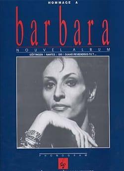 Barbara - Tribute to Barbara - Partition - di-arezzo.com