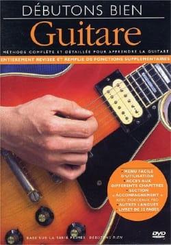DVD - Débutons Bien Guitare - Partition - laflutedepan.com