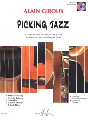 Picking Jazz - Partition - Guitare - laflutedepan.com