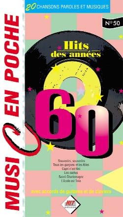 Music en poche N° 50 - Hits des années 60 Partition laflutedepan