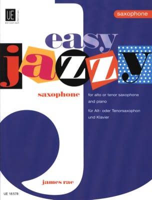 Easy jazzy saxophone James Rae Partition Saxophone - laflutedepan