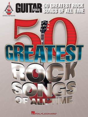 - 50 Greatest Rock Songs Of All Time - Partition - di-arezzo.fr