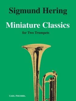 Miniature Classics - Partition - Trompette - laflutedepan.com