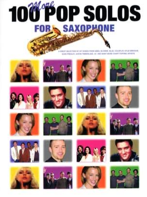 More 100 Pop Solos For Saxophone Partition Saxophone - laflutedepan