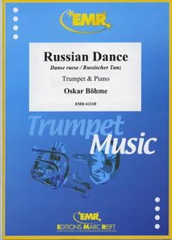 Danse russe Oskar Böhme Partition Trompette - laflutedepan
