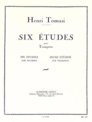 Henri Tomasi - 6 Studies - Partition - di-arezzo.co.uk