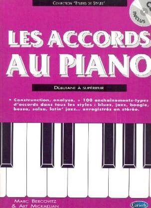 Les Accords Au Piano Marc Bercovitz Partition Piano - laflutedepan