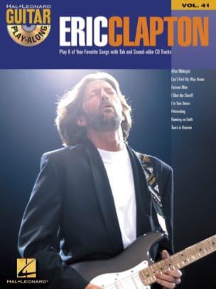 Guitar Play-Along Volume 41 - Eric Clapton Eric Clapton laflutedepan