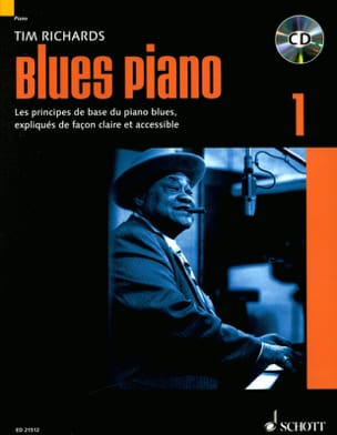 Blues piano 1 - Edition en Français Tim Richards laflutedepan