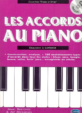 Les Accords Au Piano - Marc Bercovitz - Partition - laflutedepan.com