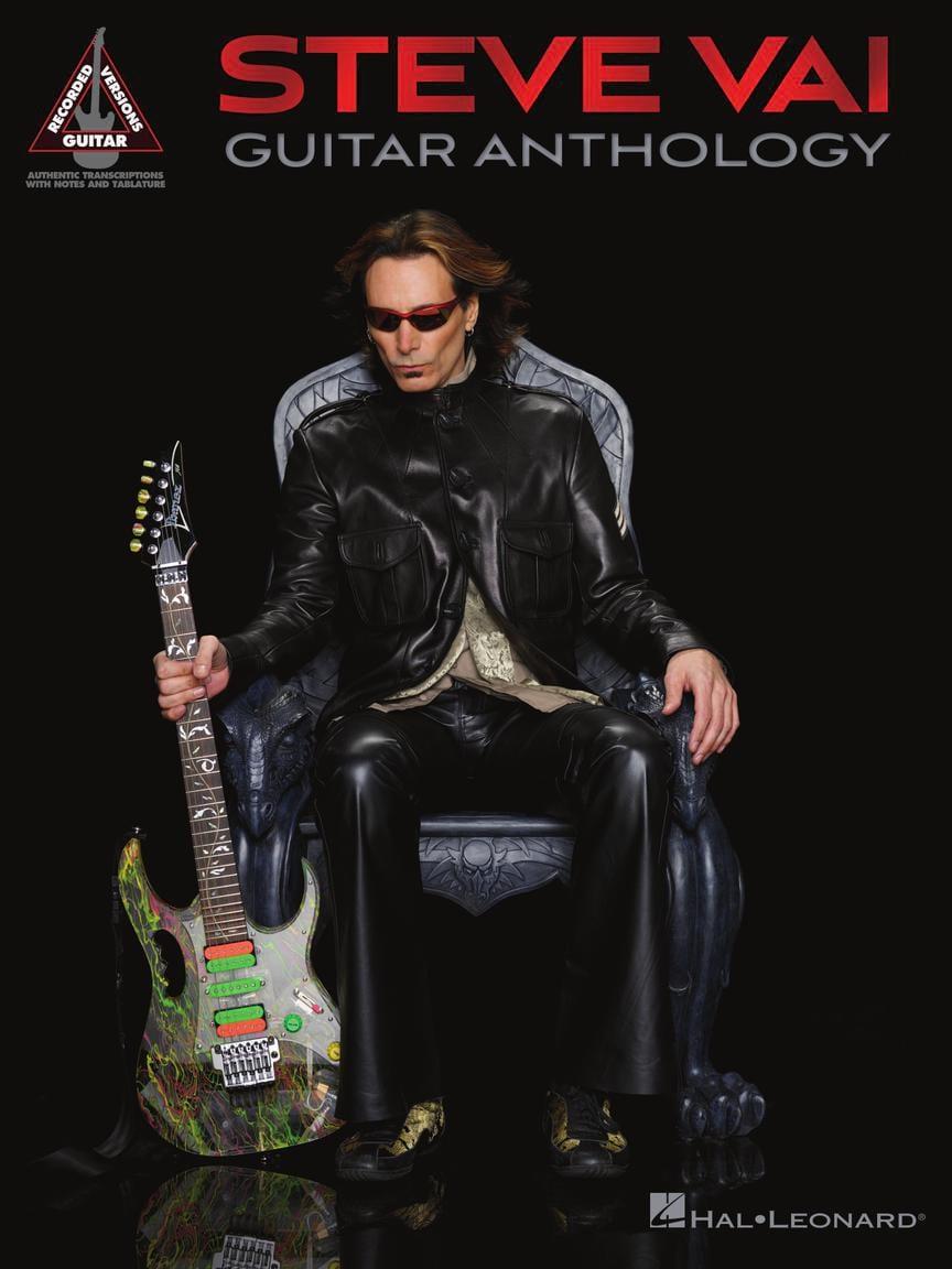 Steve Vai - Guitar Anthology - Steve Vai - laflutedepan.com