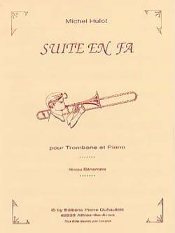 Suite En Fa Michel Hulot Partition Trombone - laflutedepan