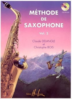 Méthode de Saxophone Volume 2 DELANGLE - BOIS Partition laflutedepan