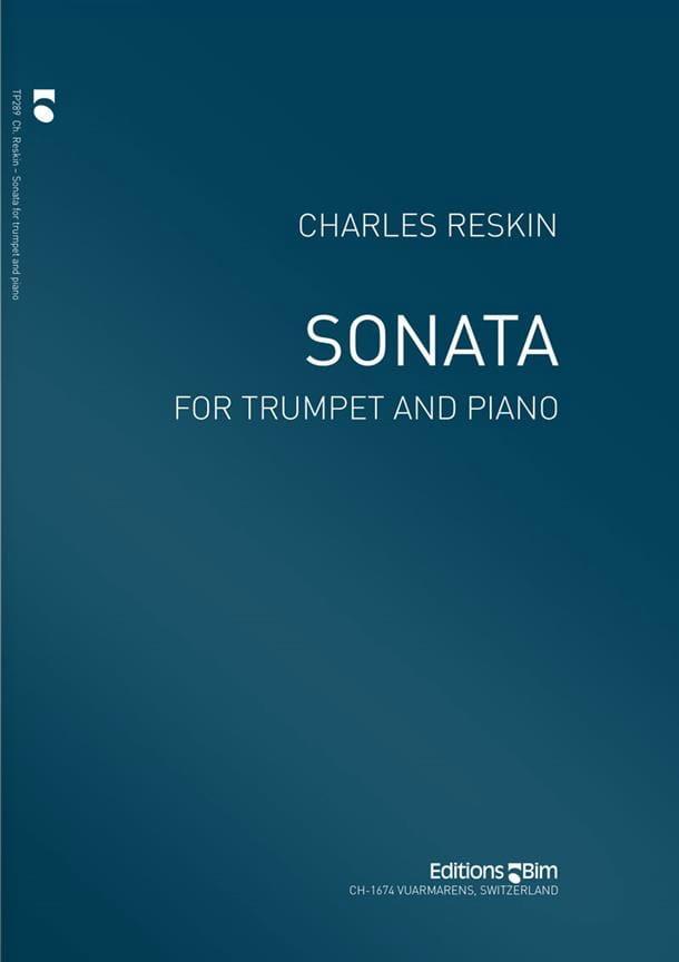 Sonata - Charles Reskin - Partition - Trompette - laflutedepan.com