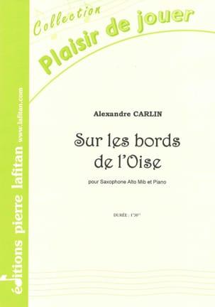Sur les bords de l'Oise Alexandre Carlin Partition laflutedepan
