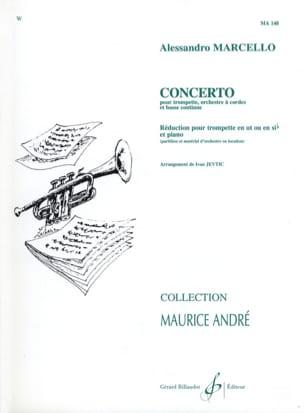 Concerto Alessandro Marcello Partition Trompette - laflutedepan