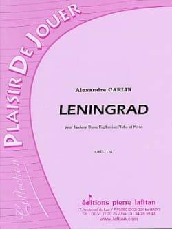 Leningrad Alexandre Carlin Partition Tuba - laflutedepan