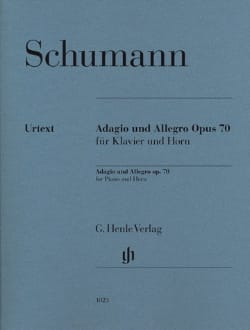 Adagio and Allegro - Cor SCHUMANN Partition Cor - laflutedepan