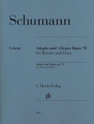 Adagio and Allegro - Cor - SCHUMANN - Partition - laflutedepan.com