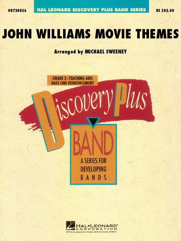 Movie Themes For Band - John Williams - Partition - laflutedepan.com