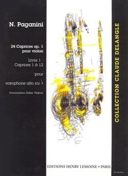 24 Caprices Opus 1 Volume 1 PAGANINI Partition laflutedepan
