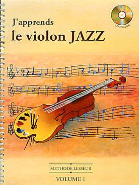 J' Apprends le Violon Jazz Volume 1 Olivier Lesseur laflutedepan