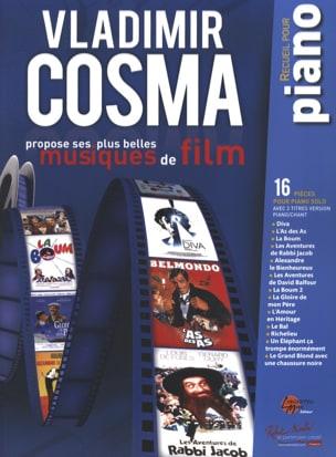 Ses Plus Belles Musiques de Film Vladimir Cosma Partition laflutedepan