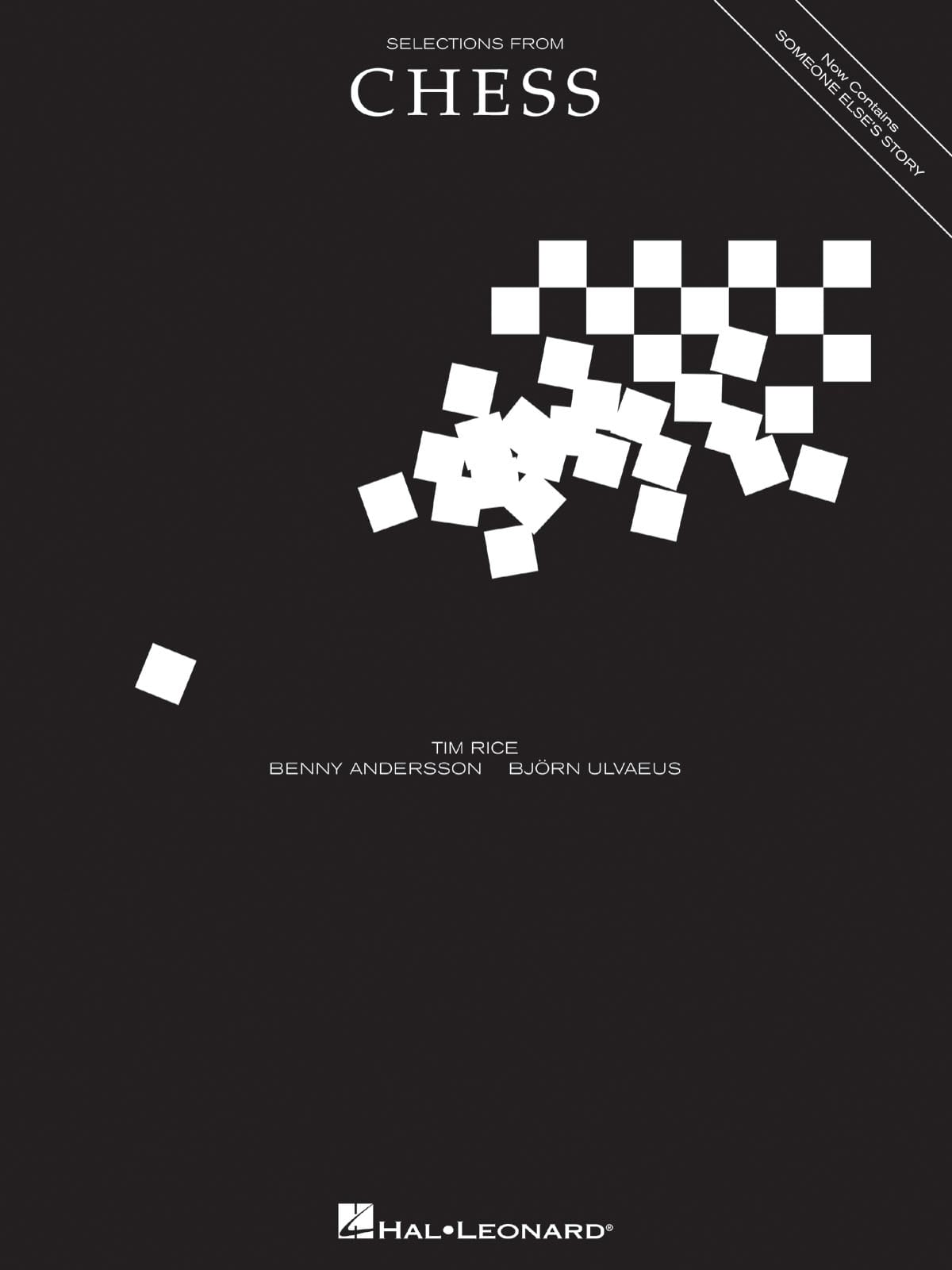 Selections from Chess - Vocal Selections - Chess - laflutedepan.com