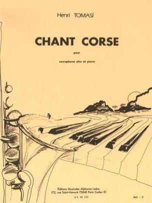 Henri Tomasi - Corsican singing - Partition - di-arezzo.co.uk