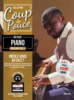 Méthode Piano Débutant Volume 2 COUP DE POUCE Partition laflutedepan