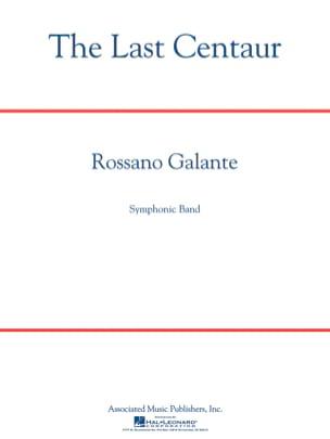 The Last Centaur Rossano Galante Partition ENSEMBLES - laflutedepan