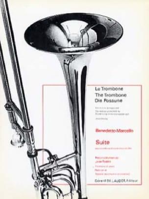 Suite - Benedetto Marcello - Partition - Trombone - laflutedepan.com