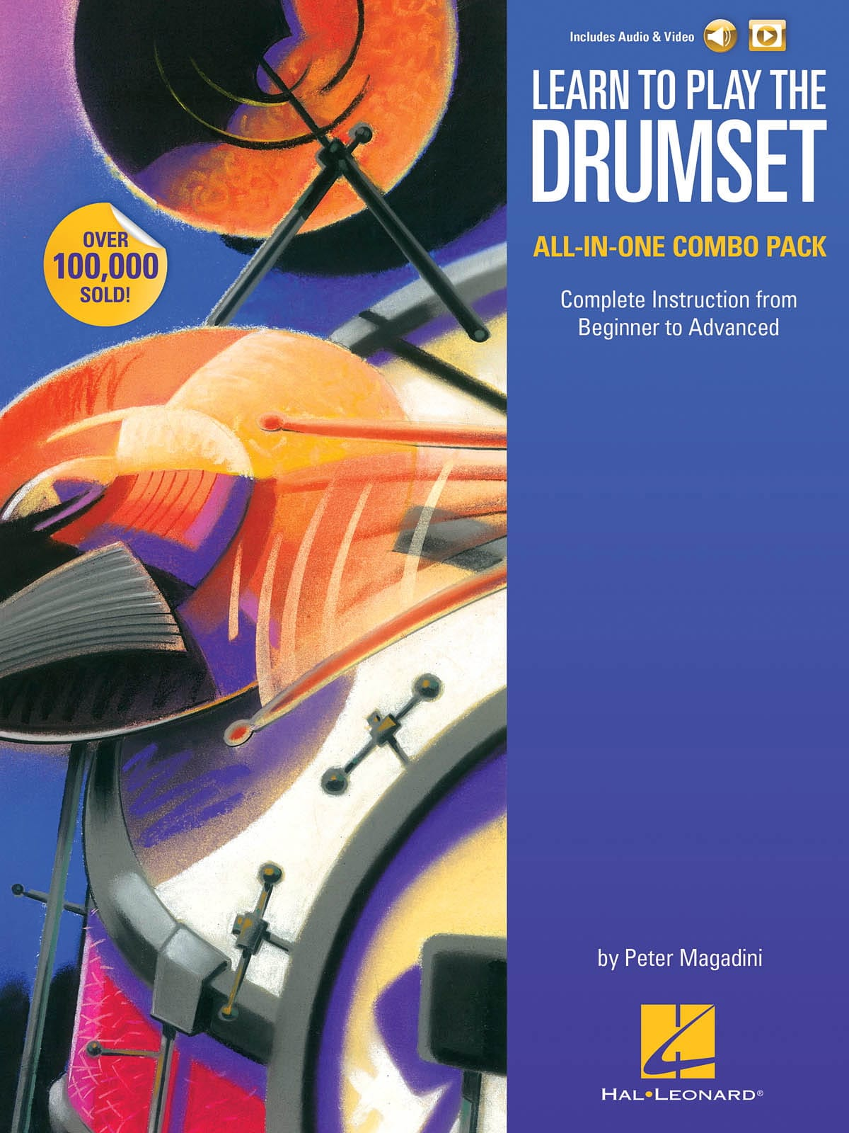 Learn to Play the Drumset - Volume 1 & 2 - laflutedepan.com