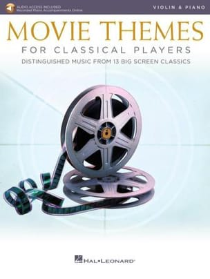 - Movie Themes for Classical Players - Violin - Piano - Partition - di-arezzo.co.uk