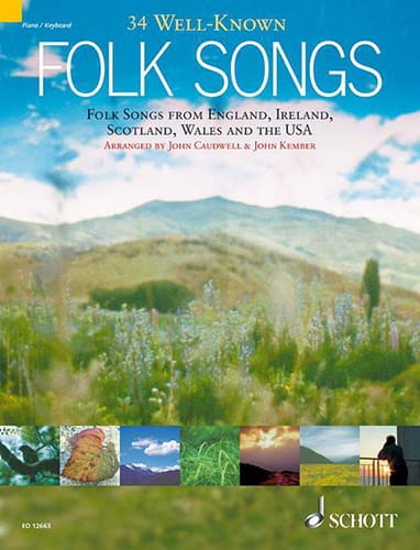 34 Well-Known Folk Songs - laflutedepan.com