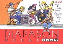 Diapason Rouge - Volume 4 Partition Chanson française - laflutedepan