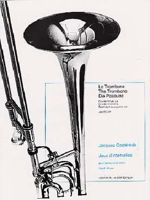 Jeux d'intervalles Jacques Castérède Partition Trombone - laflutedepan