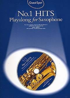 Guest Spot - N° 1 Hits Playalong For Saxophone laflutedepan