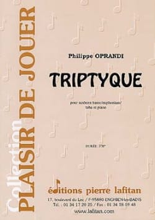 Triptyque - Philippe Oprandi - Partition - Tuba - laflutedepan.com