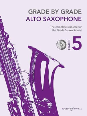 Grade by Grade 5 Partition Saxophone - laflutedepan