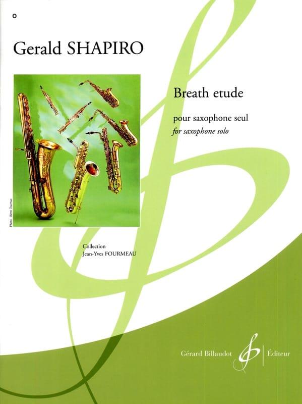 Breath Etude - Gerald Shapiro - Partition - laflutedepan.com