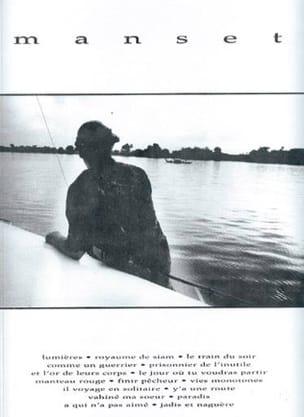 Manset Gérard Manset Partition Chanson française - laflutedepan