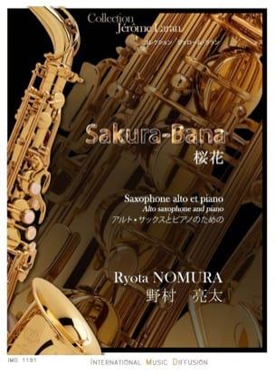 Sakura-Bana Ryota Nomura Partition Saxophone - laflutedepan