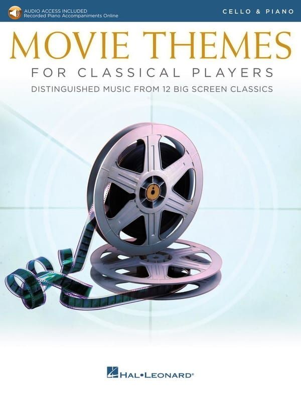 Movie Themes for Classical Players - Violoncelle & Piano - laflutedepan.com