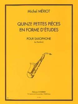 15 petites pièces en forme d'études Michel Mériot laflutedepan