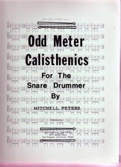 Odd Meter Calisthenics Mitchell Peters Partition laflutedepan