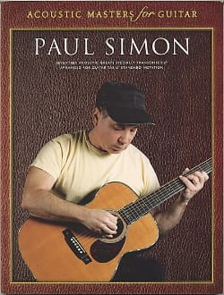 Acoustic Masters For Guitar Paul Simon Partition laflutedepan